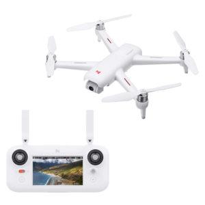 foto del drone xiaomi con il suo telecomando
