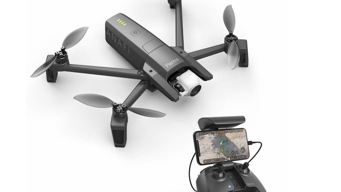 Parrot Anafi, recensione del drone