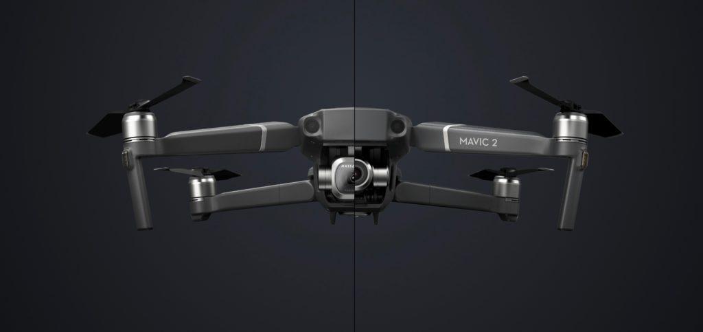 drone dji mavic pro2 e mavic  zoom