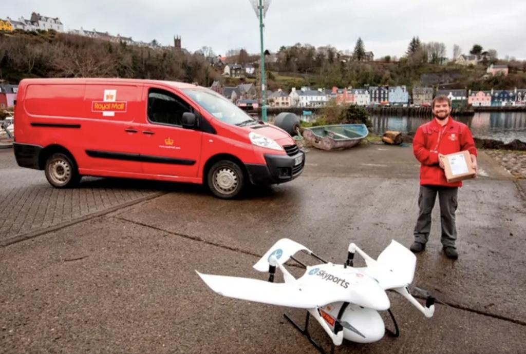 consegna drone