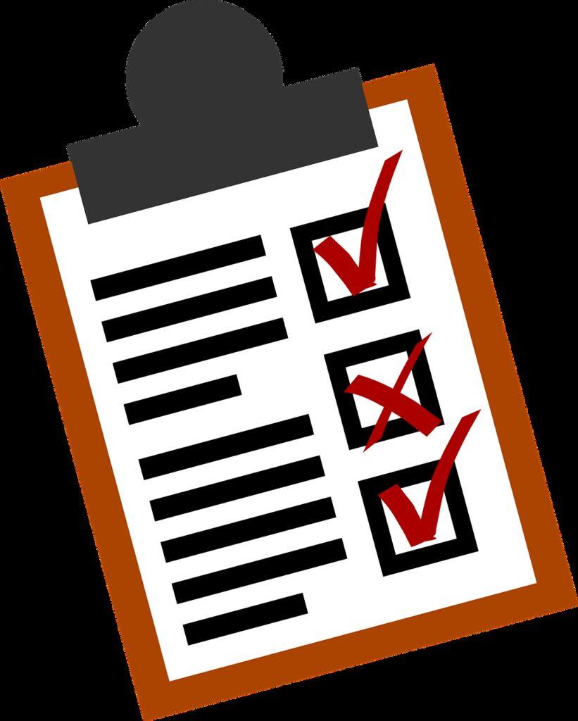 checklist, lists, business